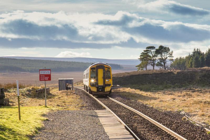Preparativos para recorrer la West Highland Way - Tren de Scotrail