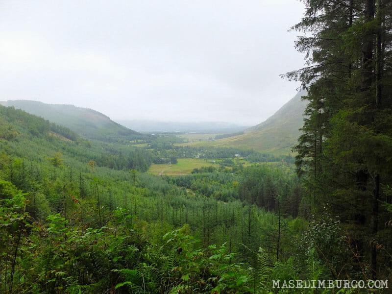 Preparativos para la West Highland Way, la ruta senderista de Escocia