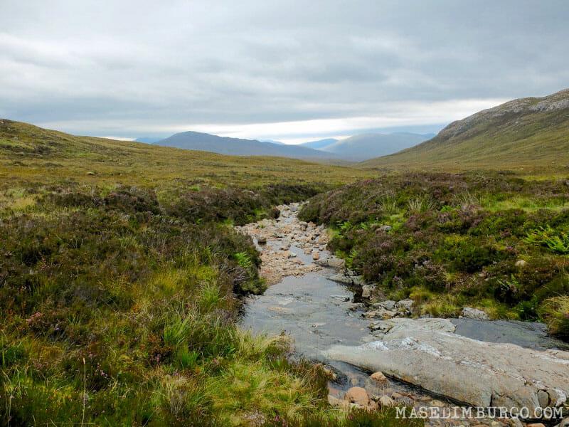 Preparativos para recorrer la West Highland Way, la ruta senderista de Escocia