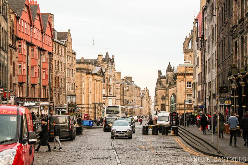 Errores que cometemos al viajar a Edimburgo - La Royal Mile