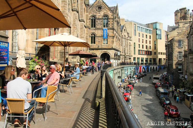 Errores que cometemos al viajar a Edimburgo - Victoria Street