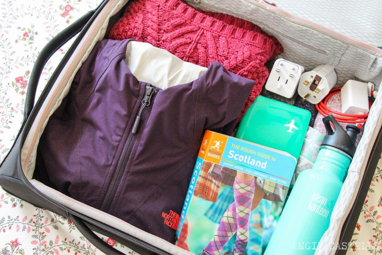 Qué meter en la maleta para viajar a Escocia