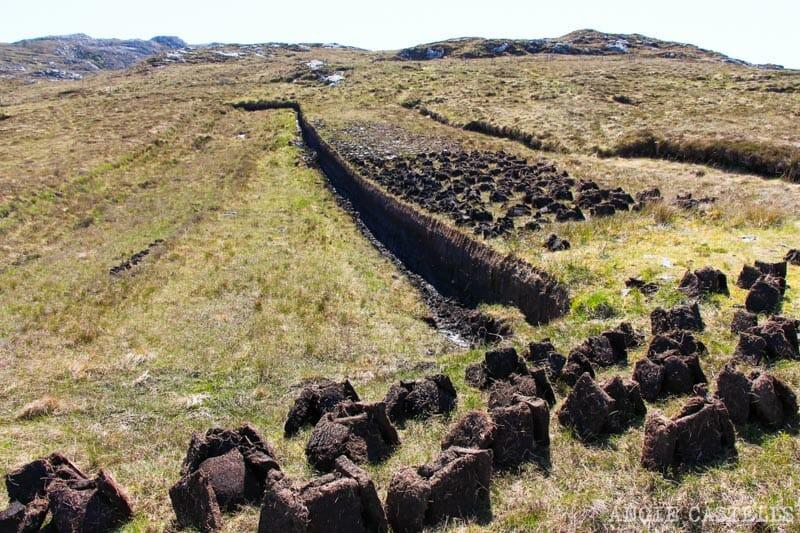 Razones para visitar la isla de Lewis y Harris - Campos de turba