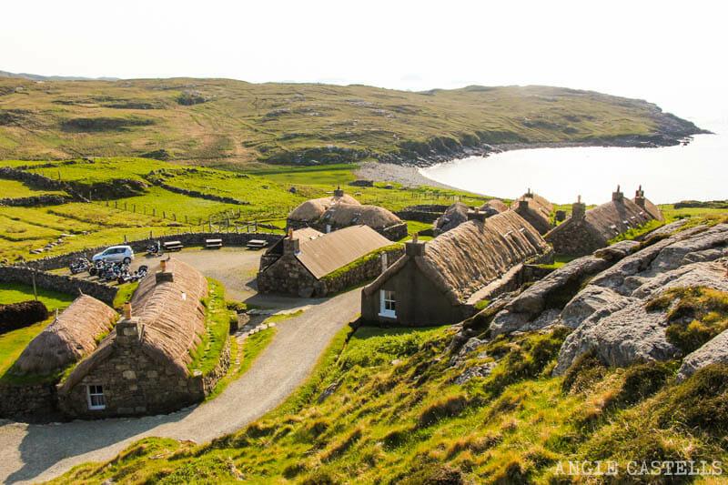 Razones para visitar la isla de Lewis y Harris - Gearrannan Blackhouse Village