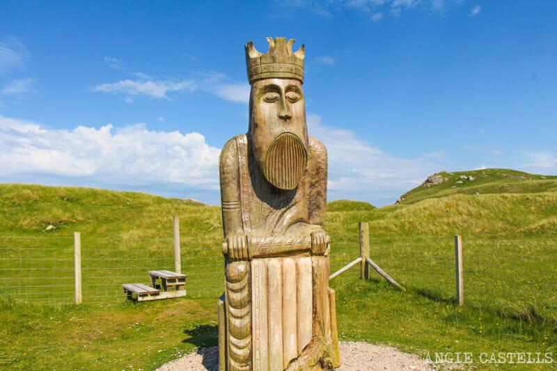 Razones para visitar la isla de Lewis y Harris - Ajedrez de Lewis en Uig Bay