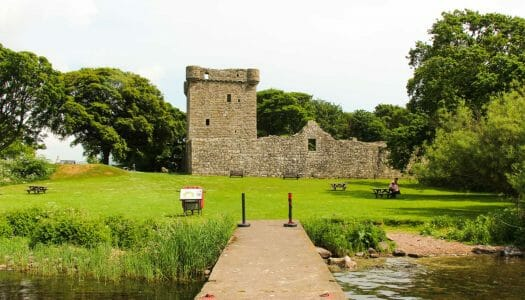 Lochleven Castle, la cárcel de la reina María Estuardo