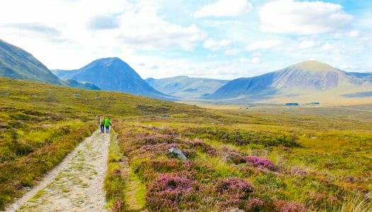Recorriendo la West Highland Way: Bridge of Orchy – Fort William