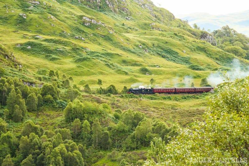 Ruta por Escocia en 10 días - Glenfinnan y el tren Jacobite