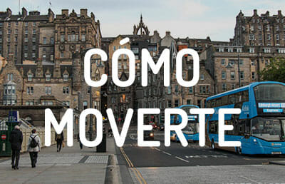 Cómo moverte por Edimburgo y llegar desde el aeropuerto a la ciudad