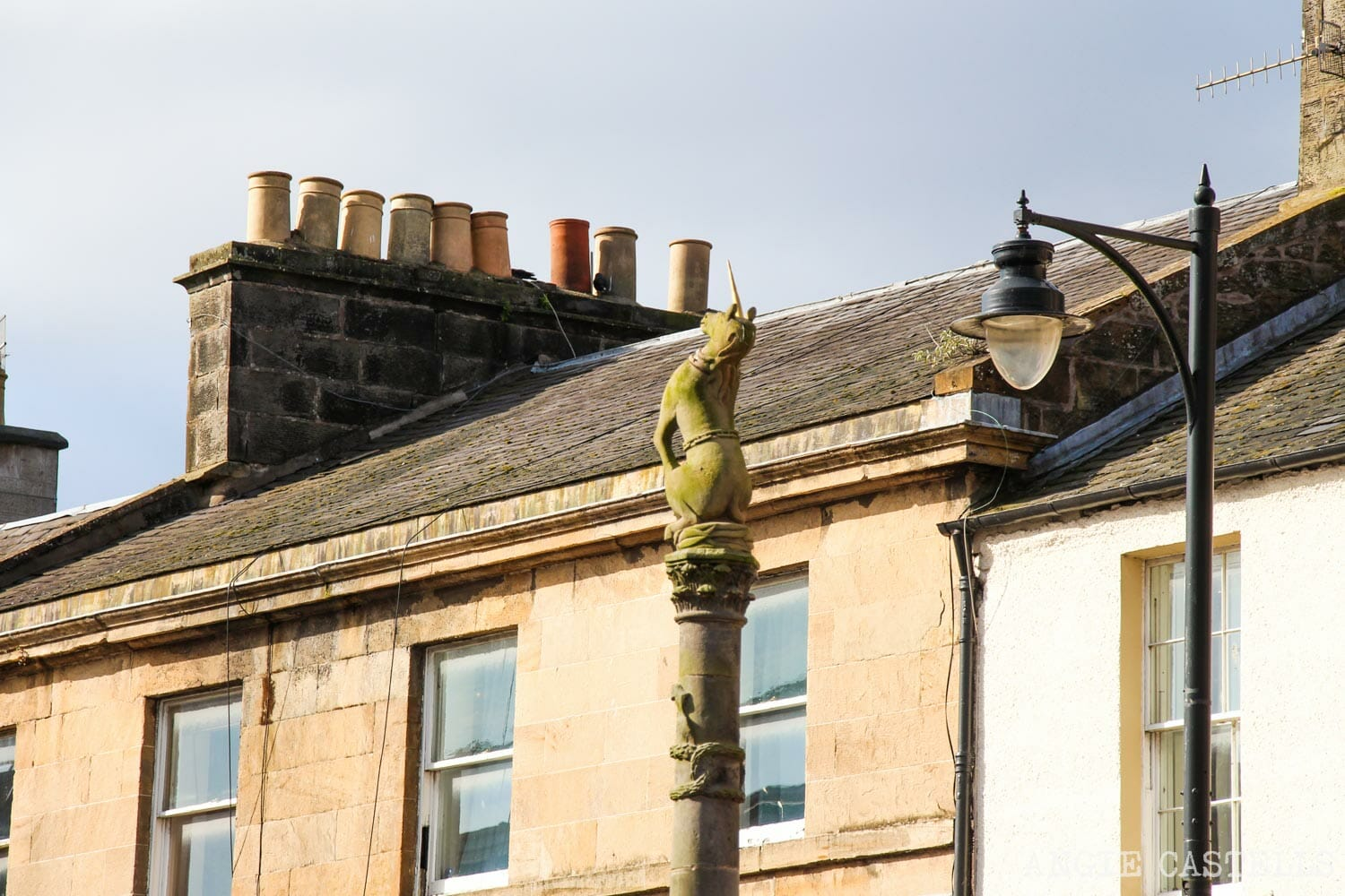 El unicornio, el animal nacional de Escocia - Cupar Mercat Cross