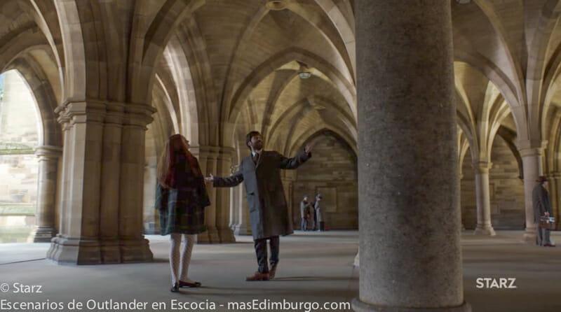 Dónde se rodó Outlander en Glasgow - Glasgow University