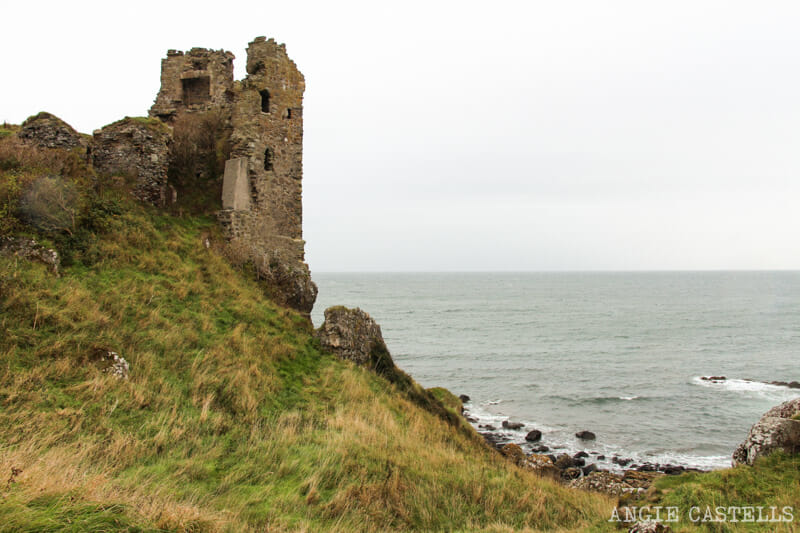 Escenarios de Outlander en Escocia - Dunure Castle