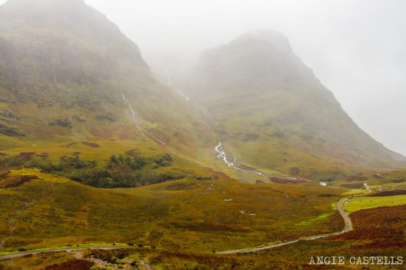 Las mejores excursiones para el otoño en Escocia - Glencoe y Glen Etive