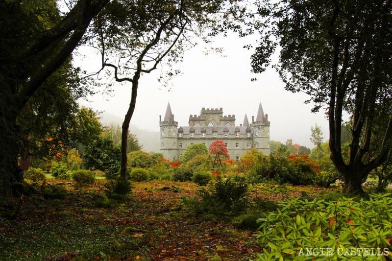 Las mejores excursiones para el otoño en Escocia - El castillo de Inveraray
