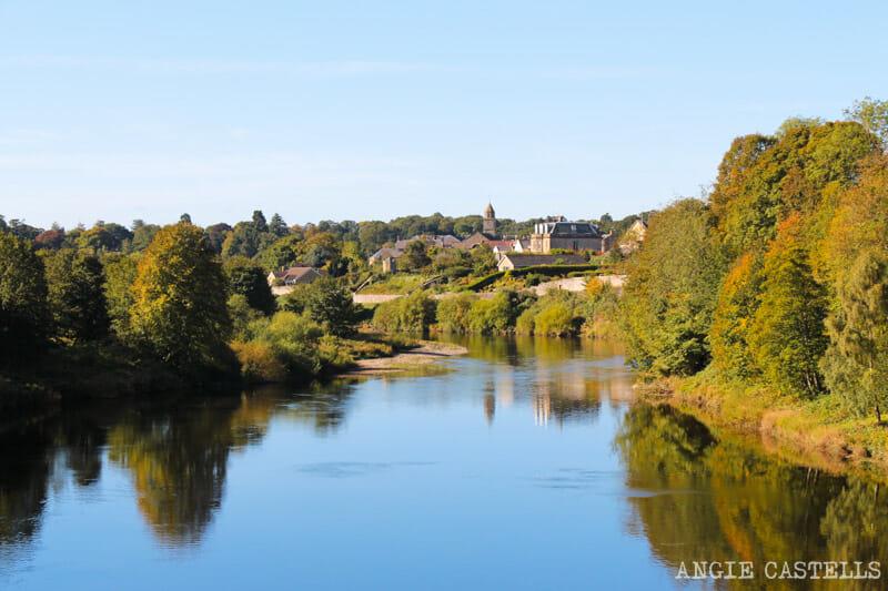 Las mejores excursiones para el otoño en Escocia - Los Borders y el río Tweed