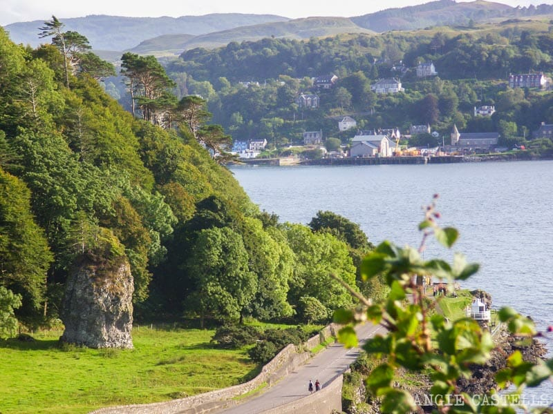 Qué hacer en Oban, en Escocia - Dunollie Castle
