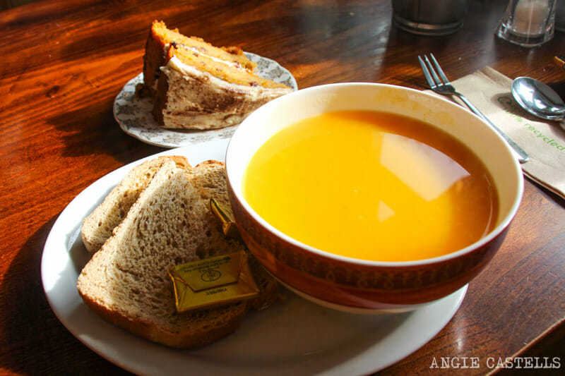 Dónde comer en Oban - Vegetariano