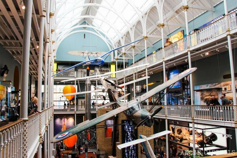 Qué hacer en Edimburgo con niños - National Museum of Scotland