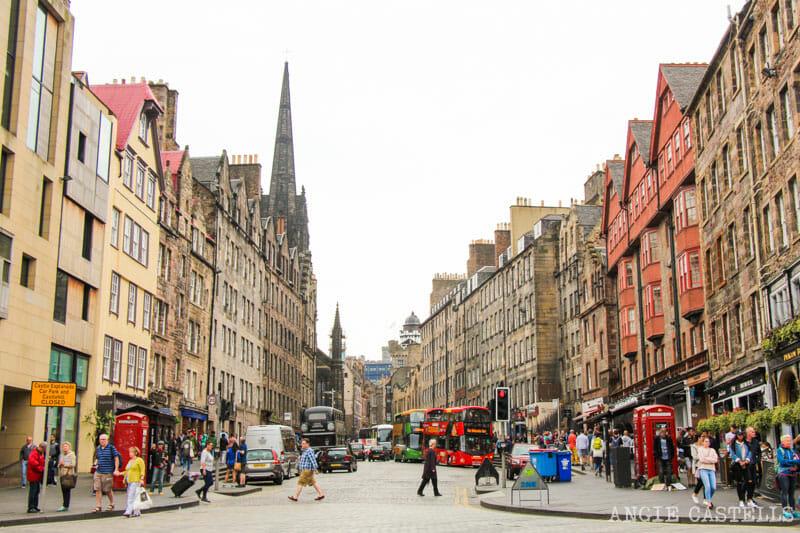 Qué hacer en Edimburgo con niños - La Royal Mile
