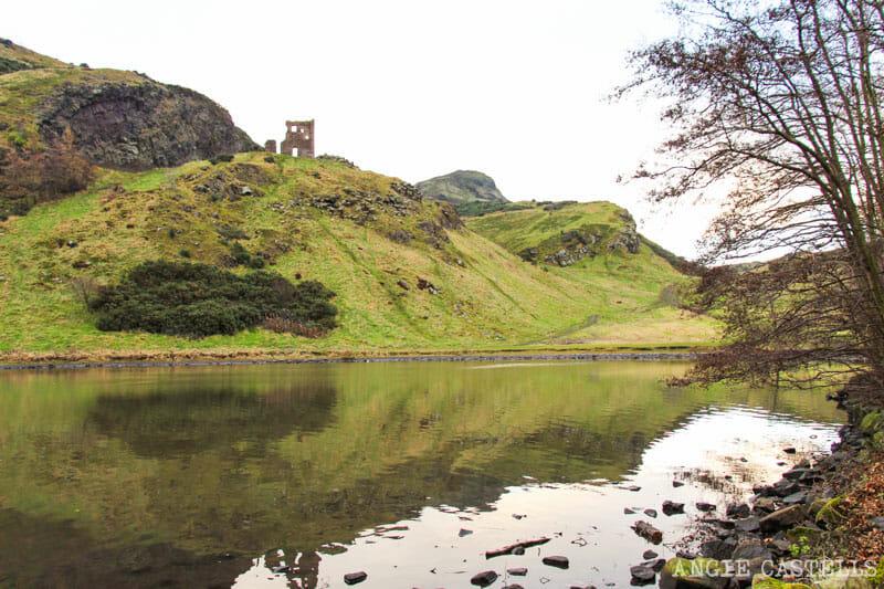 Qué hacer en Edimburgo con niños - Holyrood Park y St Margaret's Loch
