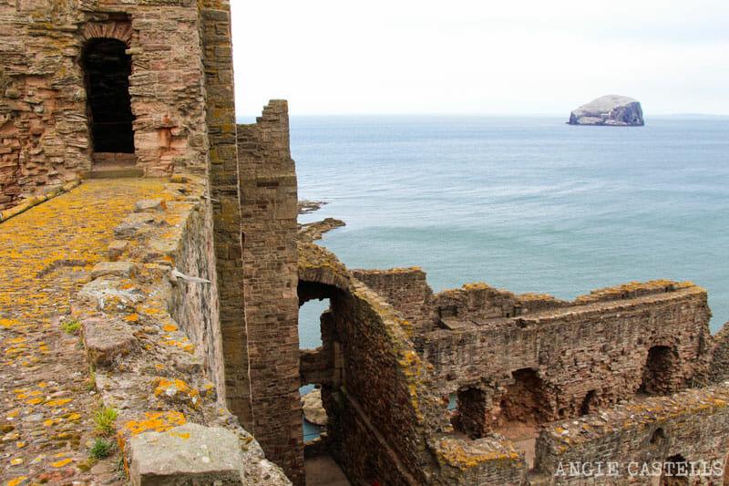 Qué hacer en Edimburgo con niños - Tantallon Castle, North Berwick