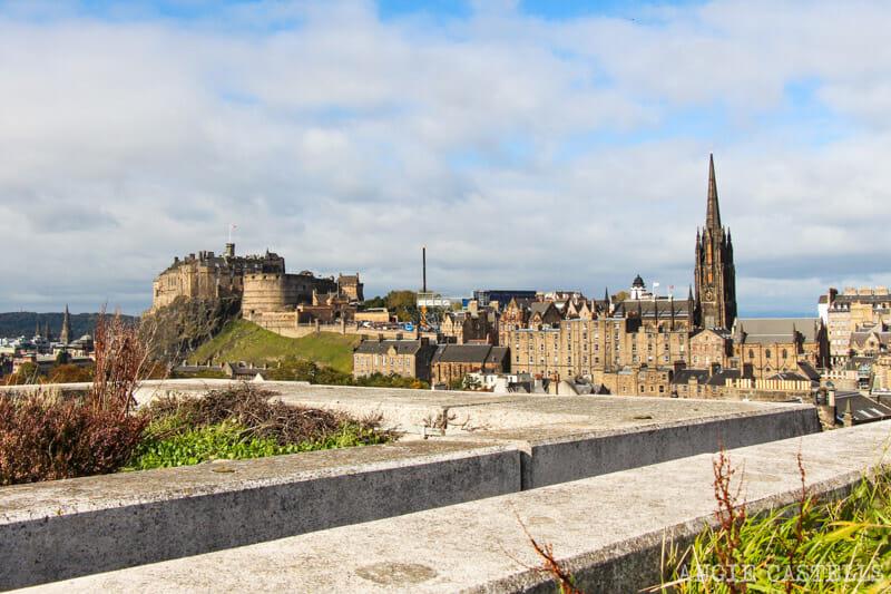 Qué hacer en Edimburgo con niños - Terraza National Museum of Scotland