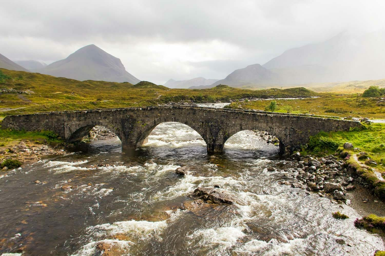 Errores que cometemos al viajar a Escocia - Sligachan Isla de Skye