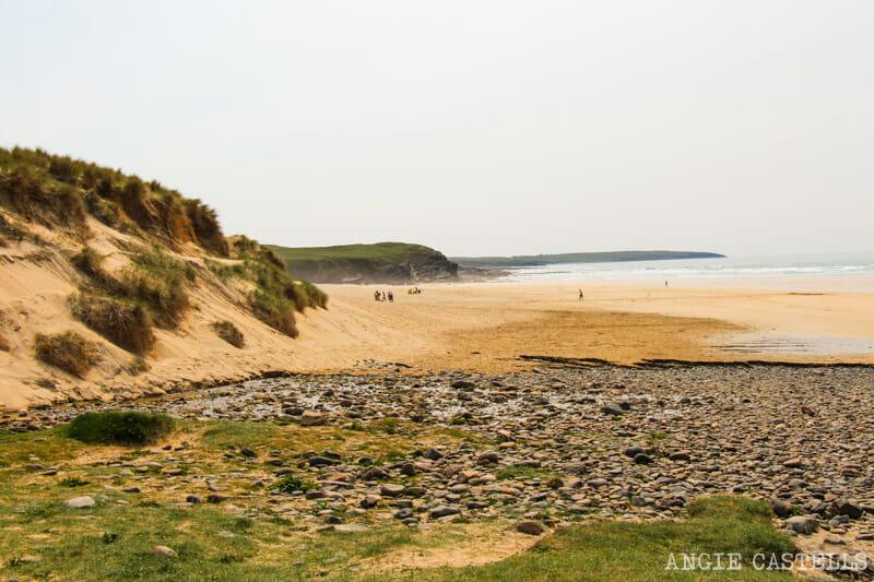 Ruta por la isla de Lewis y Harris - Playa Eoropie Beach