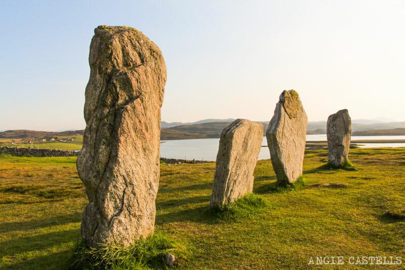 Ruta por la isla de Lewis y Harris - Las piedras de Callanish