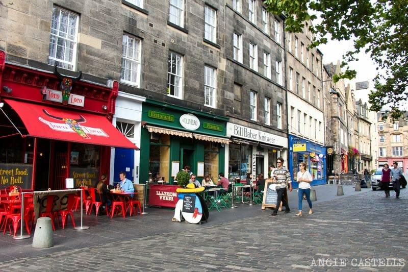Top 10 lugares que ver en Edimburgo - Grassmarket y Old Town