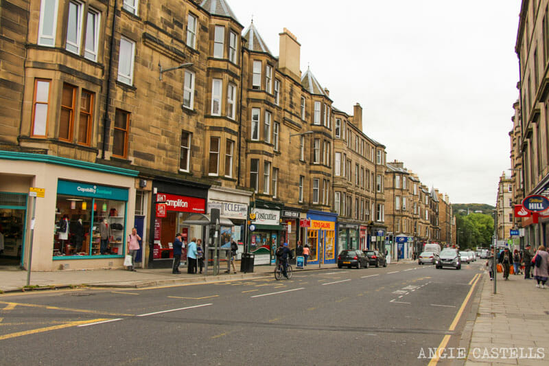 Top 10 lugares que ver en Edimburgo - Morningside Road