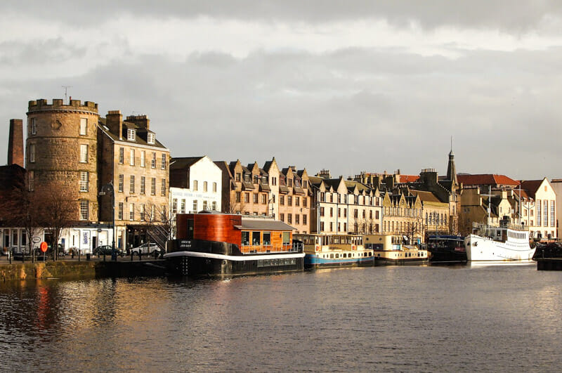 Top 10 lugares que ver en Edimburgo - The Shore en Leith