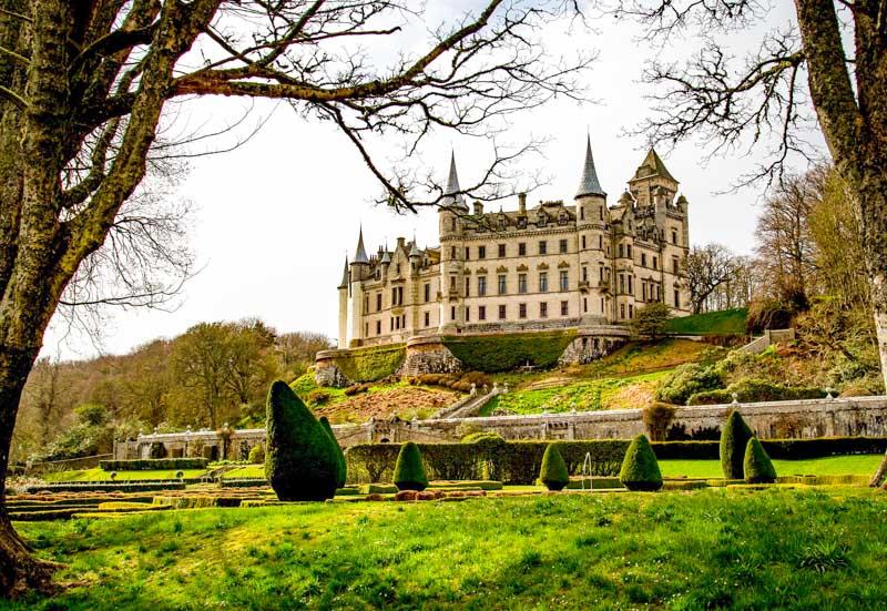 Castillos de Escocia que parecen de cuento - Dunrobin Castle
