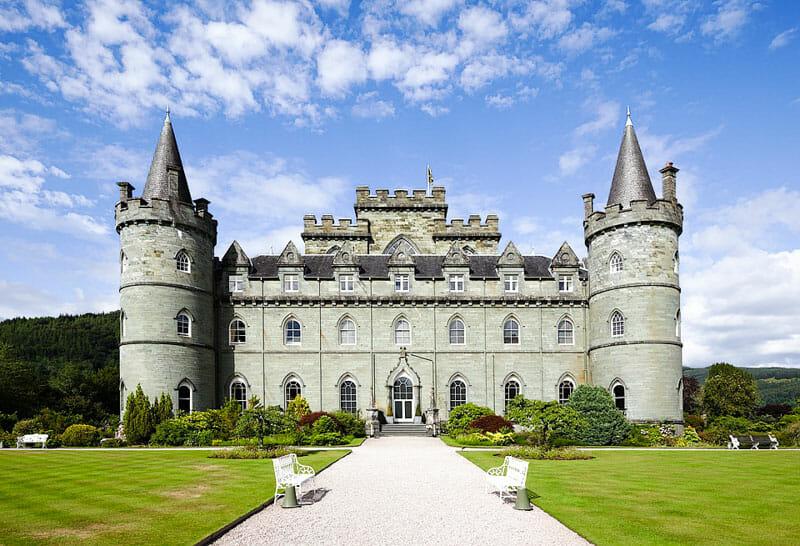 Castillos de Escocia que parecen de cuento - Inveraray Castle