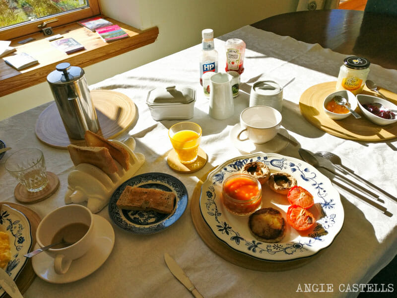 Alojarse en un bed and breakfast para viajar a Escocia barato