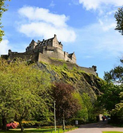 Cómo funciona la tarjeta Royal Edinburgh - El castillo de Edimburgo