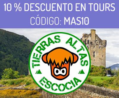 Descuento en tours en español por Edimburgo con Tierras Altas