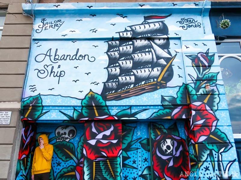 Arte urbano en Dundee y la iniciativa Open Close