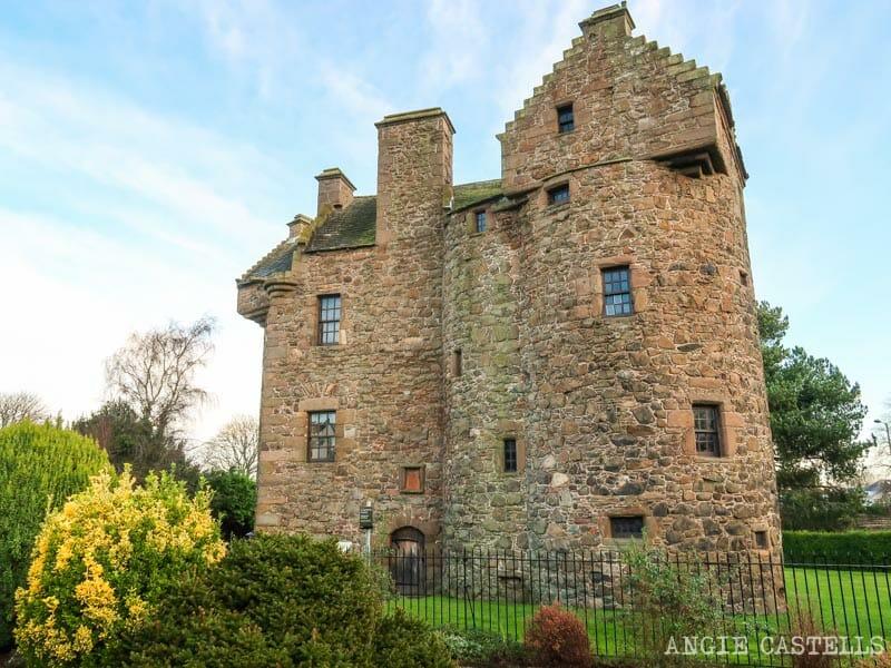 El Claypotts Castle, uno de los castillos de Dundee