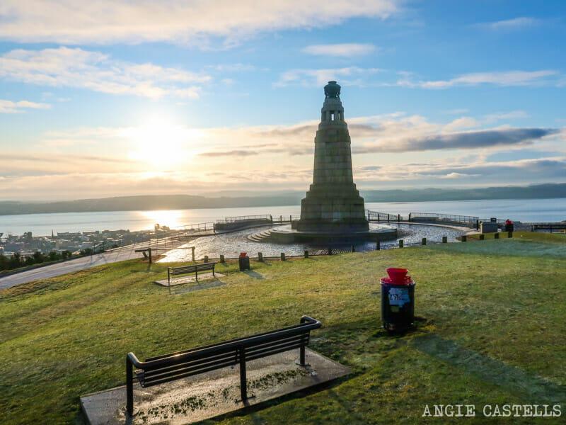 La colina Dundee Law, las mejores vistas de Dundee
