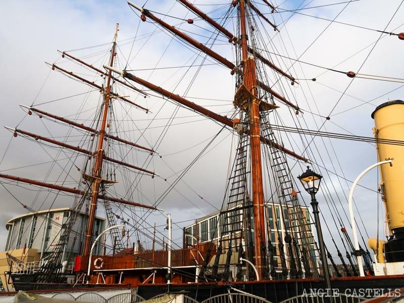 Qué ver en Dundee - El barco Discovery y su museo