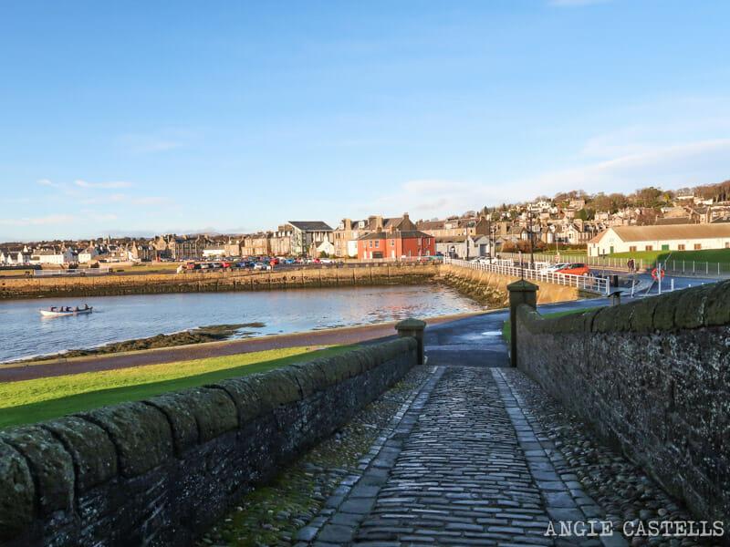 Que ver en Dundee - El barrio de Broughty Ferry