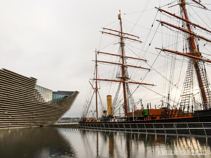 Visitar el Discovery, una de las cosas que hacer en Dundee