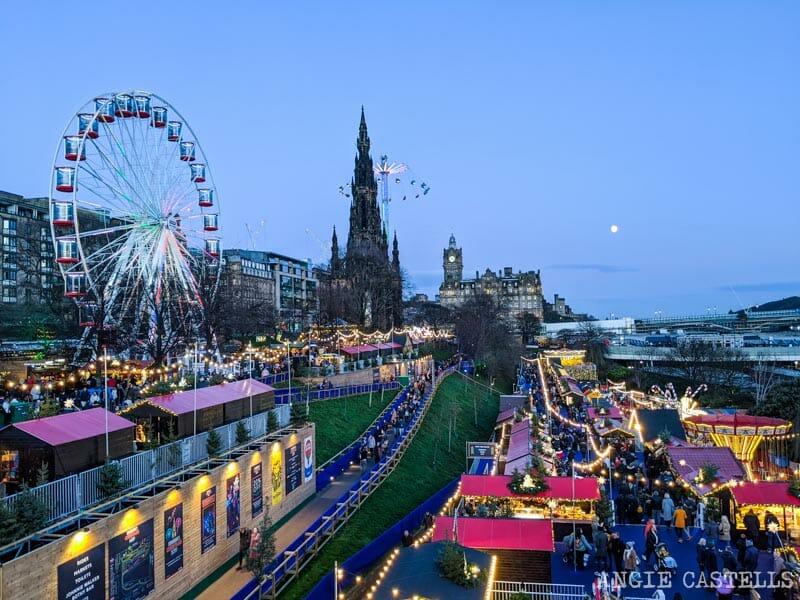Qué hacer en Edimburgo en Navidad