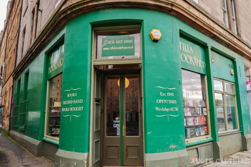 La librería Tills Bookstore, en Edimburgo