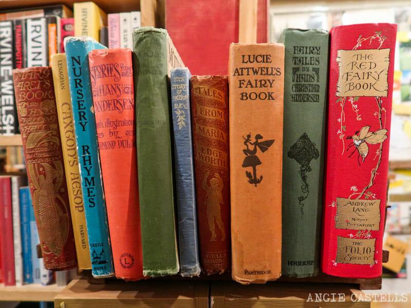 Armchair Bookstore, la librería más bonita de Edimburgo