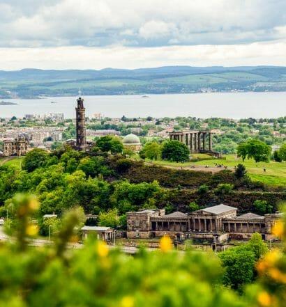 Cuáles son las ciudades de Escocia y que ver en cada una - Calton Hill, Edimburgo