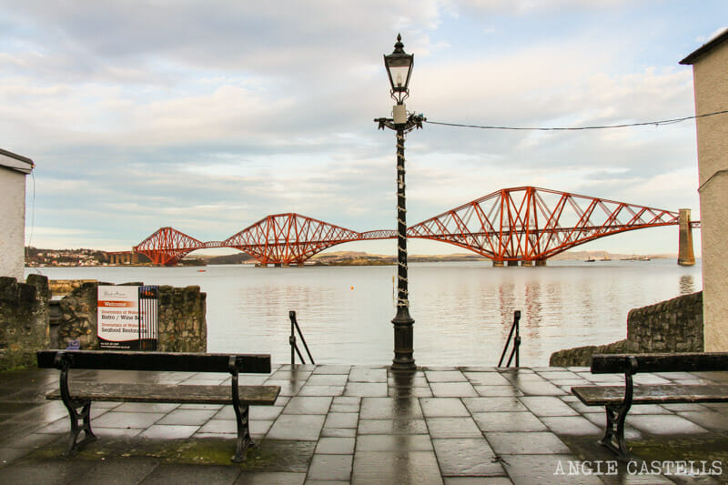 Melhores vistas para as Pontes Forth de South Queensferry