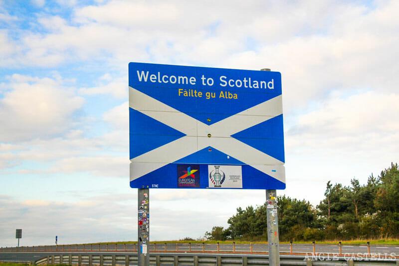 Failte gu Alba, bienvenido a Escocia